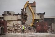 Several of the two-story buildings that were part of the sprawling, 508-room complex have been torn down.