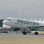 Frontier last in on-time arrival percentage in November