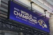 New artwork and signage, like this display above, now welcome fans to M&T Bank Stadium.
