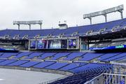 New LED board have been added to the right and left of the main RavensVision screen on each end zone at M&T Bank Stadium. The screens replace static signage.