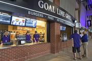 All 16 lower-level concession stands have been gutted and upgraded.