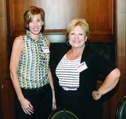 Jennifer Mutschler, left, and Susan Niedbala of Highwoods Properties.