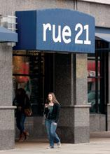 Warrendale-based rue21 Inc. (Nasdaq: RUE) reported comparable-store sales are down nearly 6 percent in the second quarter.