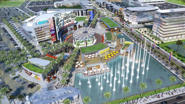 Construction is set to start this year on the One Daytona dining-shopping-entertainment complex in Daytona Beach, which is being developed by International Speedway Corp. and Jacoby Development Inc.