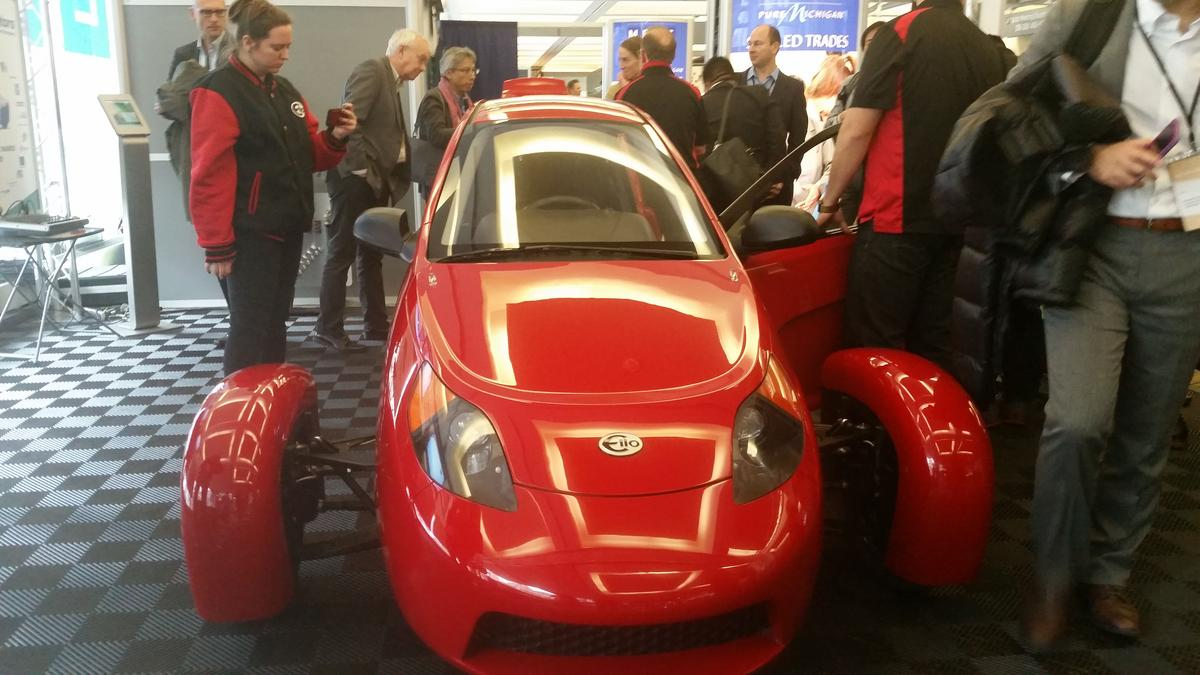 84 Miles Per Gallon Elio Motors Says Its 2 Seater Does It