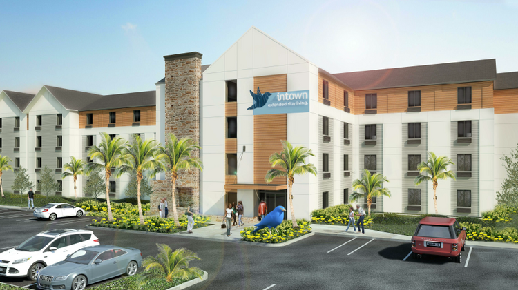 This 128 Room Intown Suites Is Planned In Homestead