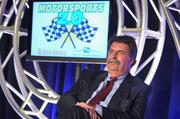 "Mike  Helton, president of NASCAR, says the sport endured ""some lean times"" during and after the Great Recession, but that it now stands on solid footing after signing $8 billion in new TV contracts and making changes to its business model."