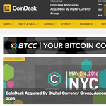 Digital Currency Group acquires bitcoin media company CoinDesk