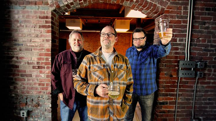 Matthew Jacobson, Charlie Devereux and Rodney Muirhead are teaming up on a new brewery and restaurant in the Central Eastside called Wayfinder Beer.