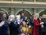 Policy proposals clash on Colorado Legislature's opening day