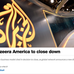 <strong>Al</strong> Jazeera America is shutting down after less than two years in operation