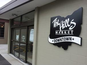 The new Hills Market opens March 19, giving downtown residents a much-desired supermarket.