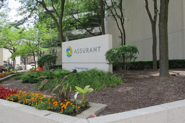 Sixty-five positions will be eliminated at Assurant Health's downtown Milwaukee office because less underwriting will be needed under provisions of the Affordable Care Act.