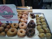 Destination Doughnuts is one of the many local bakers whose products are offered at Hills.