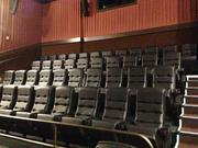Every auditorium in the theater has stadium-style seating.