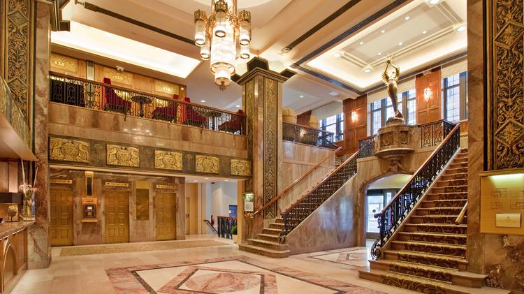 Hotel Phillips Is Known For Its Art Deco Lobby, Which Will Get A  Preservation