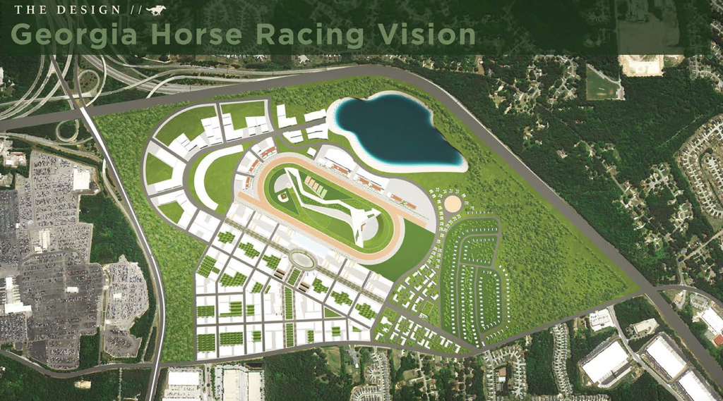 Massive Piedmont Park-sized Horse Racing Mixed Use Complex