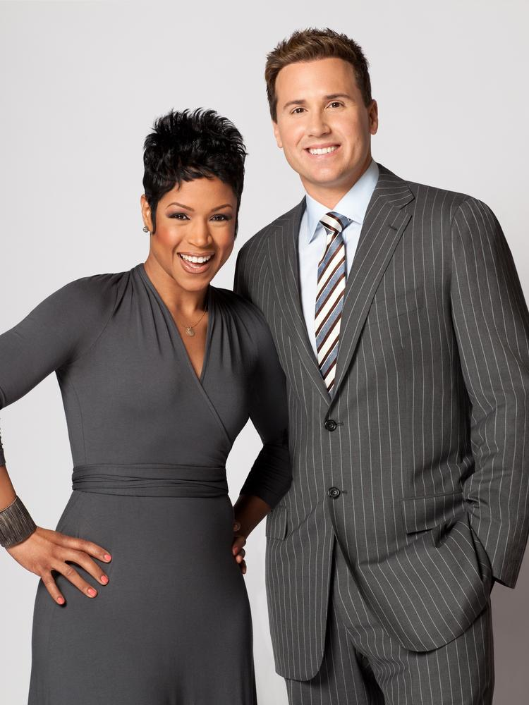 "Val Warner (left) and Ryan Chiaverini are co-hosts of ""Windy City Live,"" which moved to a new time slot on Sept. 2."