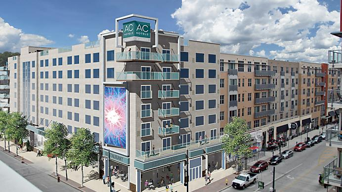 One Of The New Hotels Planned For Downtown Cincinnati Is An Ac Hotel Marriott S Brand
