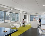 The Zilliant breakroom is an airy getaway for coffee, lunch or playing ping-pong.