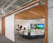 Gensler created numerous collaborative spaces with a variety of furnishings and creative influences.