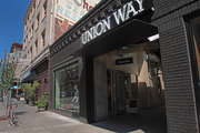 Project^ created a retail pedestrian mall between Southwest Stark and Burnside streets by carving a hallway through adjoining buildings. The $4.5 million project wrapped in August.