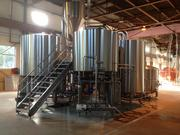 A main part of the brewing operation at Rivertowne Brewing Co.