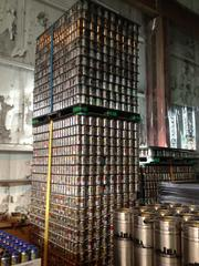 Rivertowne beer cans ready for use.