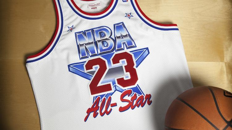 553df7f277c8 How much Michael Jordan s throwback jersey from the  91 NBA All-Star ...