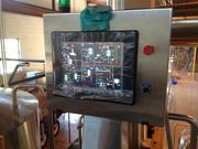 Maxwell called this control panel the smart phone of the brewing operation for the way it allows them to use a customized software package to oversee beer production.