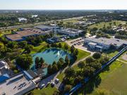 Schlumberger's campus in Sugar Land  in the Sugar Land Business Park, including the 33 acres the oil field service company will be expanding on.