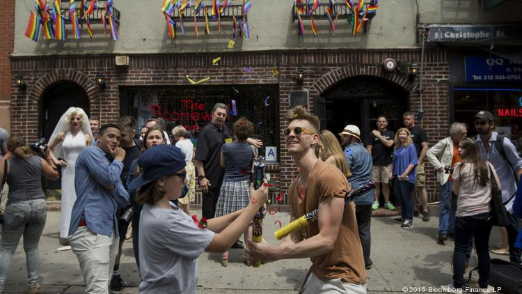 New York City has long been a key spot for the LGBT community. A police raid on the bar The Stonewall Inn in 1969 is considered the launch of the modern gay rights movement. Last June, peopled celebrate outside the West Village bar after the U.S. Supreme court determined same-sex couples have a constitutional right to marry nationwide.