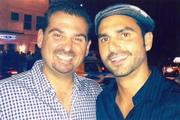 """Brothers Dan and David Le Batard. Dan, a columnist for The Miami Herald, has an ESPN TV show and is host of an afternoon sports radio program. He describes their relationship as """"super close""""."""
