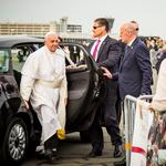 Car used by Pope Francis during Phila. visit up for auction