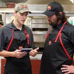'Undercover Boss' films at N.C. pizza shop