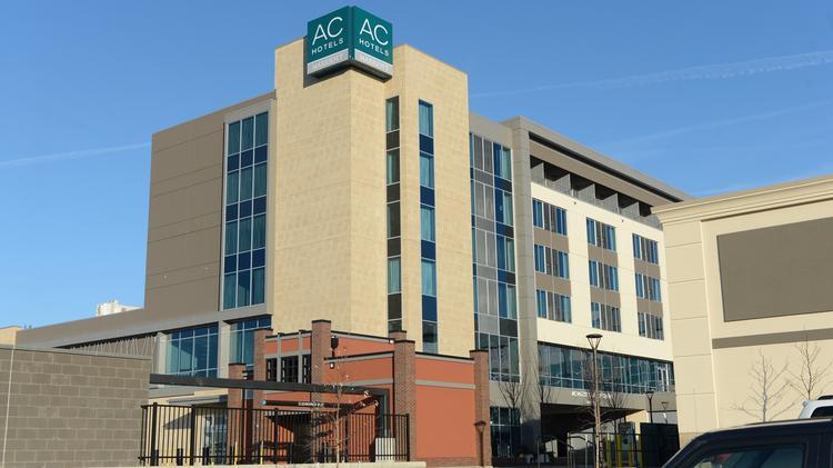 The Ac Hotel Cincinnati At Liberty Center Is A 130 Room Steiner