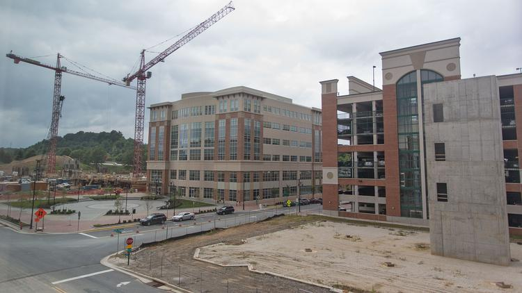 "Office construction at Metro Centre in Owings Mills is ""shovel-ready,"" says Howard S. Brown."
