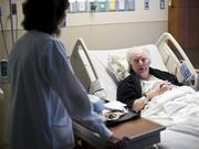 Right-to-die advocate John Jay Hooker, battling his own illness at the Sarah Cannon Cancer Center, one of many sounding boards for Narus Health.