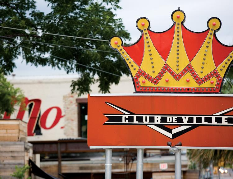 Red River Street is packed with some of Austin's most popular music venues, including Stubb's BBQ and Mohawk.