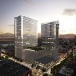 Houston developer planning office, hotel project at 15th & California in Denver