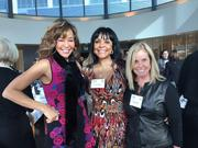 Left to right, Dana Frank,Tracie Mayer, Mary Bass, among the supporters of the Opportunity for Success Scholarship Program, were among the 60 women invited to lunch to raise money for scholarships. Photo: Patti Payne