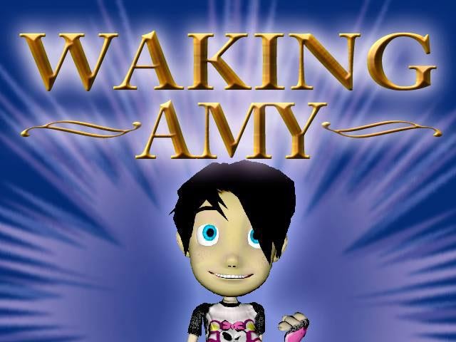 Martian Media Inc. is trying to raise $10,000 to create a new game called Waking Amy. This is Amy.