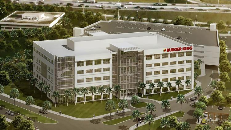 Burger King To Build Headquarters Office In Miami Dade
