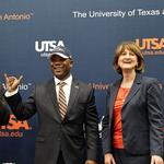 "UTSA's <strong>Hickey</strong>: New football coach will be ""vital player"" in biz recruitment"