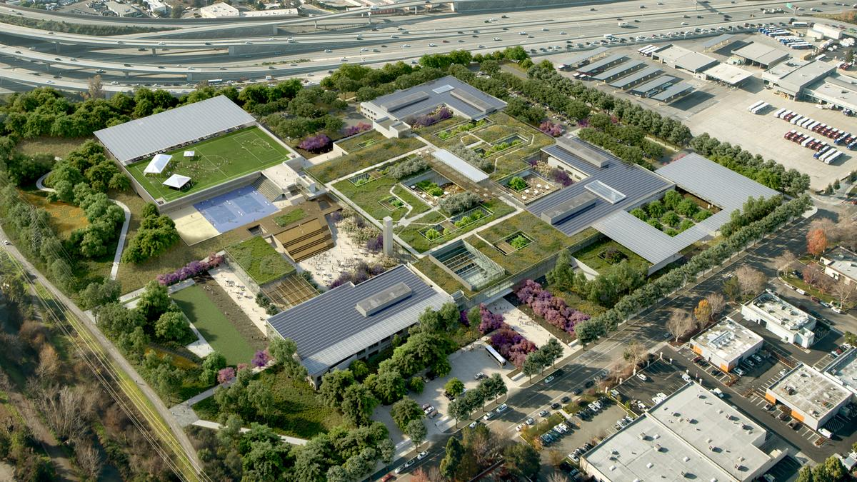 Microsoft S Mountain View Plans Move Forward With Campus