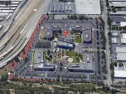 This screenshot from Google Maps shows just how much surface parking is on site right now.