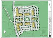 The approved lots at CommonSide Commons in Bourne.