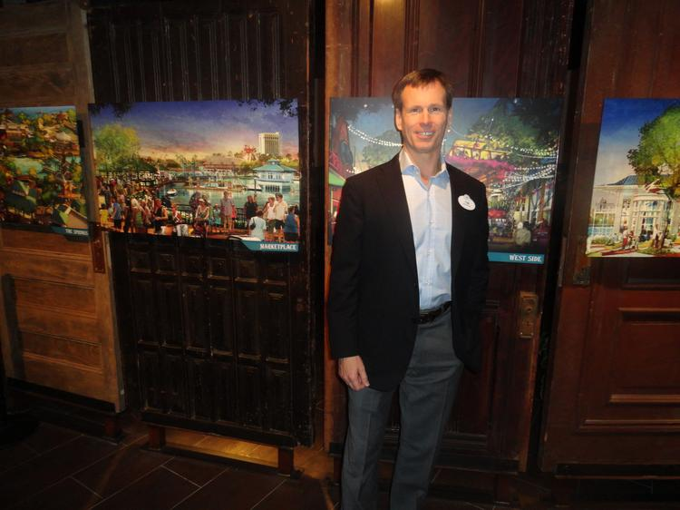 Disney Parks & Resorts Chairman Tom Staggs says the Star Wars brand is being explored for the parks.