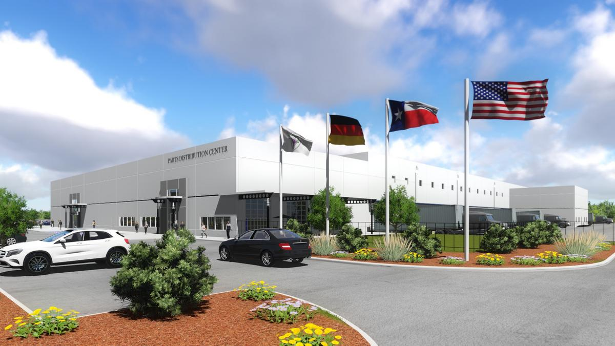 Mercedes benz to develop new regional distribution for Mercedes benz service dallas tx