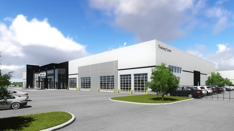 Mercedes benz to move houston learning performance for Mercedes benz of dallas fort worth